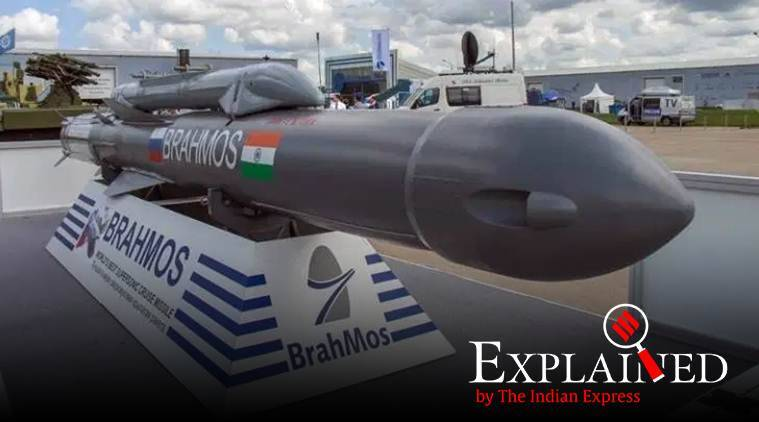 BrahMos missile, BrahMos missile India, BrahMos missile strengh, Defence Research and Development Organisation, DRDO BrahMos missile, BrahMos missile update, Indian express