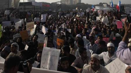 protest rally against Citizenship amendmant act in ajmer, CAA protest rally in ajmer, citizenship amendment act protest, NRC protest, police violence, CAA violence, delhi news, indian express news