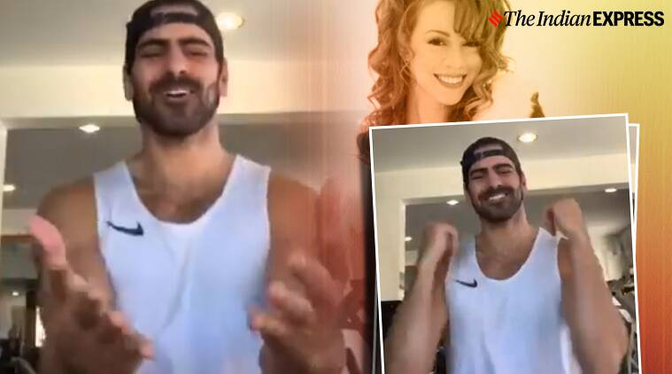 Mariah Carey, all I want for Christmas is you sign language version, Nyle DiMarco, American Sign Language, Mariah Carey, Mariah Carey Christmas song, Christmas carol sing language version, Trending, Indian Express news.