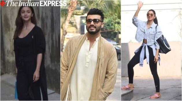 alia bhatt, kiara advani, arjun kapoor, varun dhawan, dabangg 3 promotions, kartik aaryan, mira rajput, nora fatehi, entertainment news, indian express