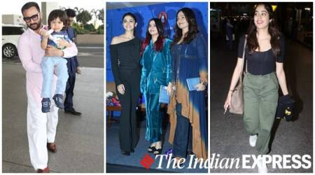 Celeb spotting: Saif Ali Khan, Alia Bhatt, Janhvi Kapoor and others