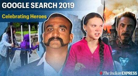 google year in search, google 2019 search, 2019 heroes, google top search, google global search, viral news, indian express