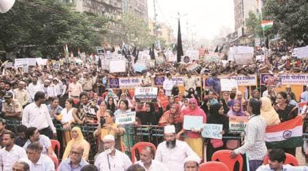 Mumbai news, Mumbai city news, Mumbai CAA protest, Mumbai NRC CAA protest, NRC CAA protest indian express