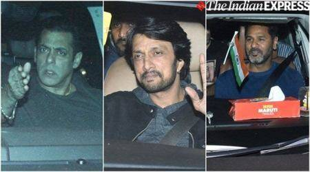 Salman Khan, Prabhudheva, Sudeep and others attend Dabangg 3 screening