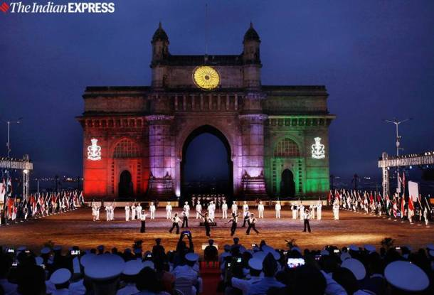 india navy day, navy day december 4, indian navy, navy forces, gateway of india, india armed forces, india news, indian express