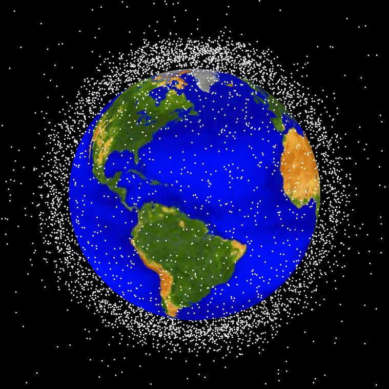 space junk, laser ranging, scientists develop space junk identification system, junk in space, Chinese Academy of Surveying and Mapping, Liaoning Technical University