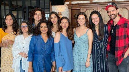 Inside Dia Mirza's birthday celebration