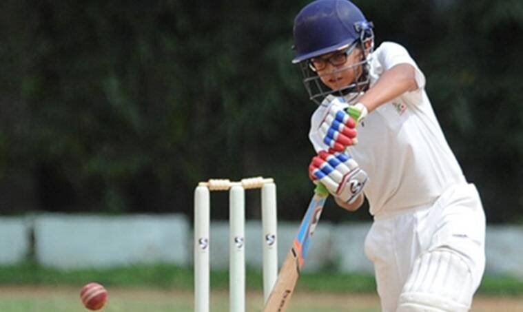 rahul dravid's son, rahul dravid son samit dravid, rahul dravid son 200, samit dravid 200, indian cricket, indian cricketers, cricket news