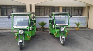 Hyderabad University launches e-rickshaws for campus