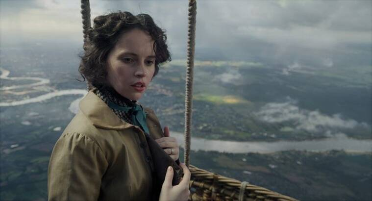 Felicity jones the aeronauts