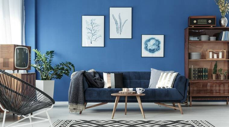 pantone colour of the year, pantone colour of the year living spaces, home decor, home decor ideas, classic blue in home decor, upcoming trends in home spaces, lifestyle, indian express