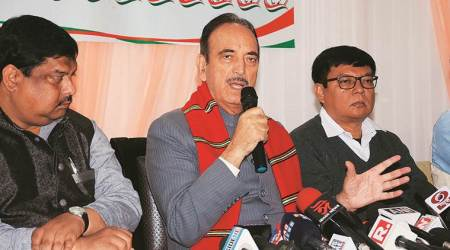 CAA protests, CAB protests, Ghulam Nabi Azad om BJP, jharkhand assembly elections, Congress on jharkhand election results, indian express news