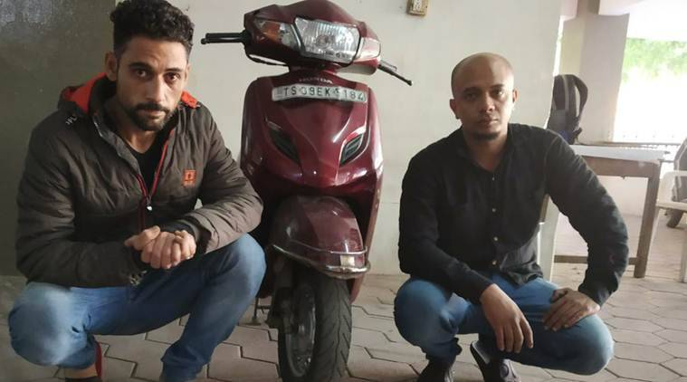 Palestine and Oman national caught peddling drugs in Hyderabad