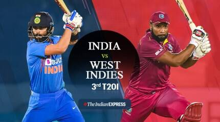 India vs West Indies 3rd T20I Live Updates