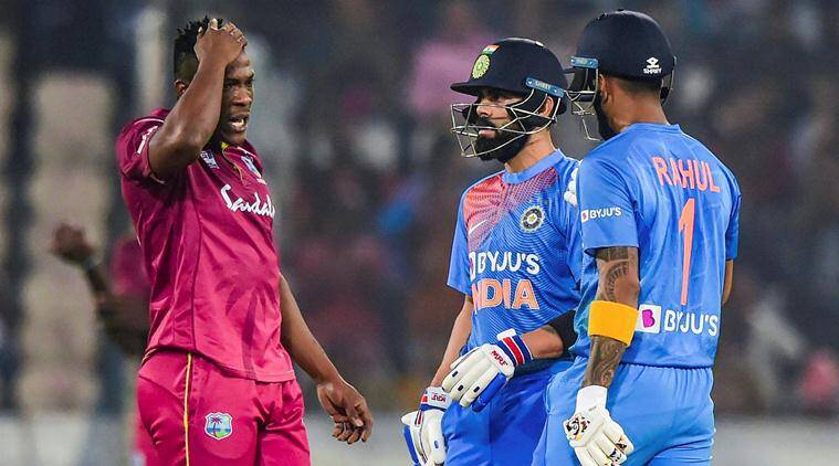 Records broken in India vs WI 1st T20I: Kohli scales a high, Kesrick Williams reaches a low