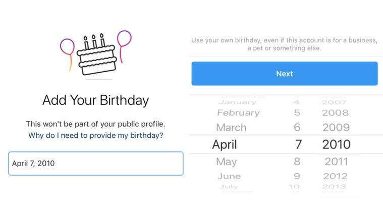 Instagram will ask new users for their birthdays