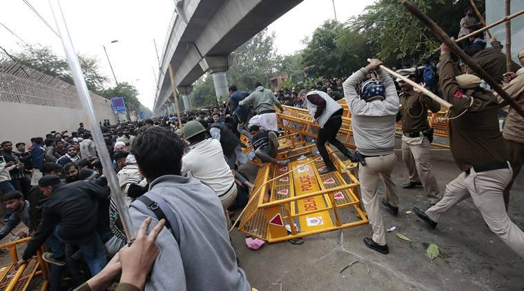 Jamia protests, Jamia CAB protests, Jamia citiznehsip bill protests, Jamia university protests, Jamia stone pelting, Jamia lathicharge, Citizenship Bill, Citizenship Bill protests