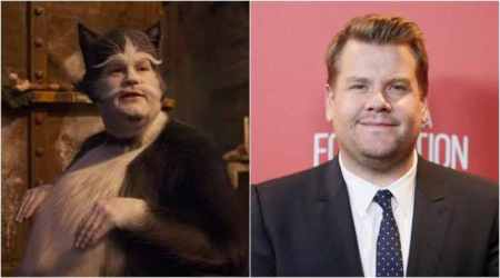 James Corden cats