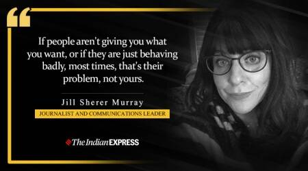 Jill Sherer Murray, Life Positive, Indian Express news