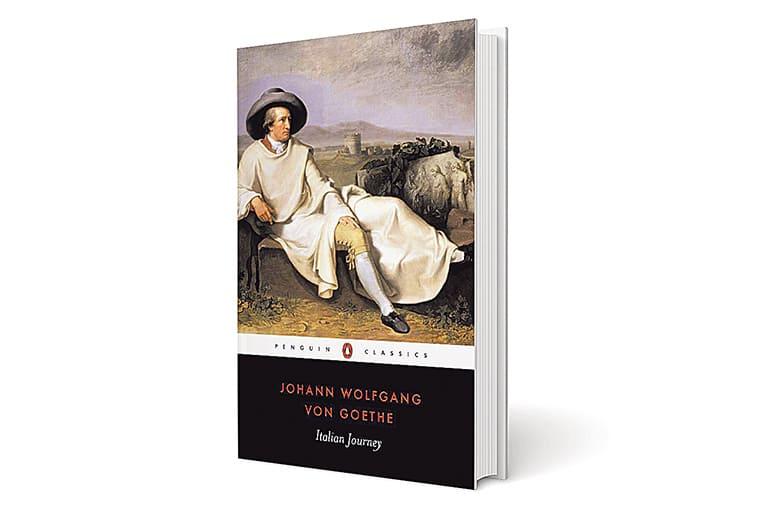 Italian Journey book cover, Italian Journey Johann Wolfgang von Goethe, Johann Wolfgang von Goethe sunday eye