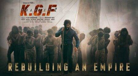 KGF Chapter 2 first look Yash