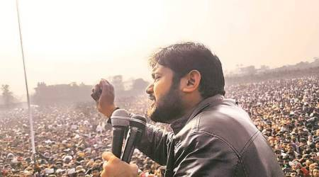 caa, jnu, kanhaiya kumar, rally at Mansa grain market, indian express news, punjab city news