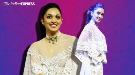 Kiara Advani, Kiara Advani fashion, kiara advani latest photos, kiara advani blenders pride, Good Newwz, Good Newwz release date, Massimo Dutti pantsuit, Kiara Advani Kiabir Singh, indian express news