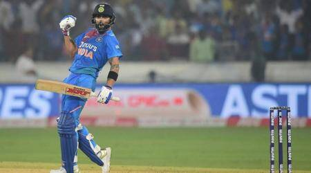 Virat Kohli leads by example, secures India's win against Windies in 1st T20I