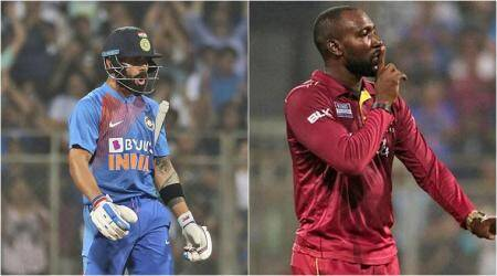 Virat Kohli, Kesrick Williams, Virat Kohli vs Kesrick Williams, Kohli Williams controversy, Kesrick Williams celebration, Virat Kohli celebration, India vs West Indies 3rd T20I