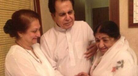 Dilip Kumar tweets for Lata Mangeshkar