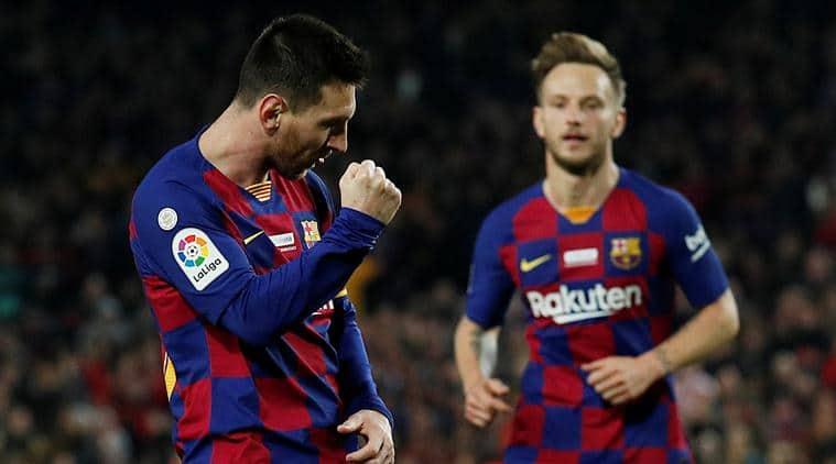 Lionel Messi beats Cristiano Ronaldo's La Liga hat-trick record
