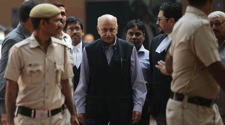 MJ Akbar MeToo case, MJ Akbar MeToo, Priya Ramani, MJ Akbar Priya Ramani, India news, Indian Express