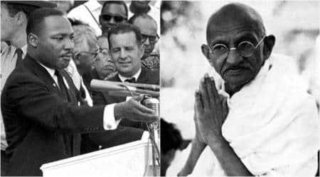 Mahatma Gandhi US, Martin Luther King Jr's legacy, US passes bill, Gandhi legacy US bill, Gandhi-King Exchange Act, Indian express