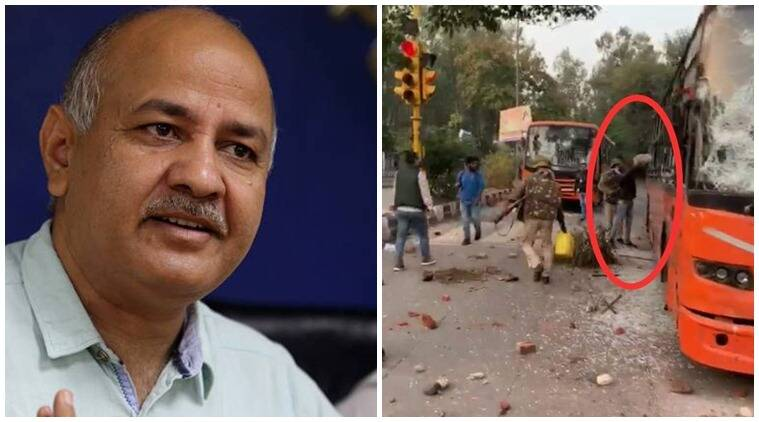 Delhi protest, Delhi Jamia protest, Manish Sisodia on Jamia protest ,Jamia Okhla protest violence live news update, indian express news