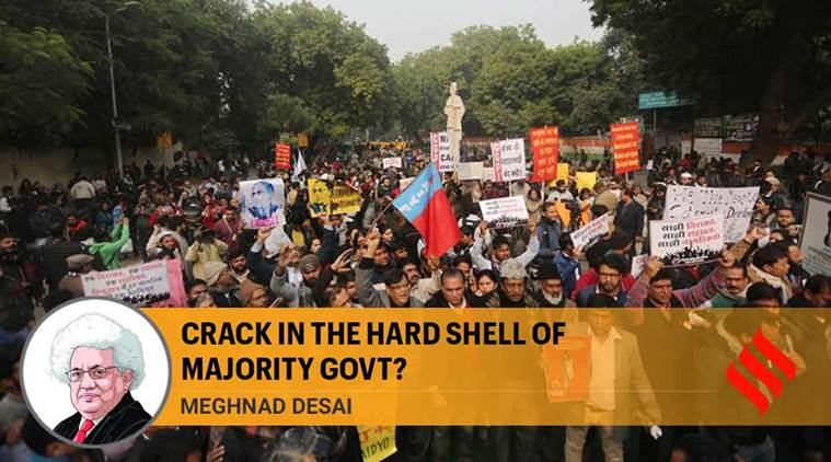 Out of my mind: Crack in the hard shell of singly-party majority government?