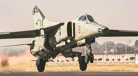 MiG 27, Mig 27 jet, Indian Air Force, Vijay Joshi, Russia, Russian jets, Russian fighter jet, Indian Express