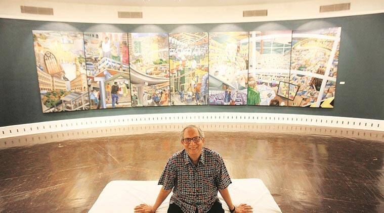 Mumbai artist Sudhir Patwardhan, Mumbai artist Sudhir Patwardhan National Gallery of Modern Art
