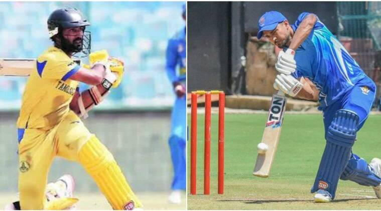 Dinesh Karthik's Tamil Nadu will take on Manish Pandey's Karnataka in the Syed Mushtaq Ali T20 Trophy final