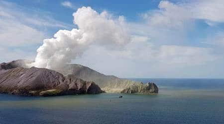 new zealand, new zealand volcano, White Island volcano, new zealand volcano erupts, Jacinda Ardern, North Island New Zealand, Whakaari volcano, Indian Express