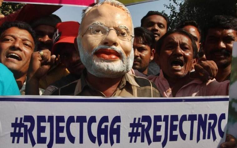 citizenship Act protest, NRC protest, government on NRC, Nitish kumar, chirag paswan, What BJP allies says on NRC, Ram madhav, Mukhtar abbas naqvi, indian express