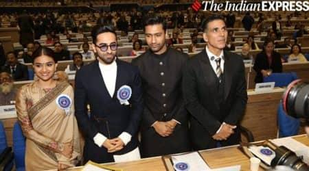 Keerthy Suresh, Ayushmann Khurrana, Vicky Kaushal, Akshay Kumar, National Film Awards, 2019 National Film Awards, 66th National Film Awards, National Film Awards winners, National Award winners, National Film Awards 2019