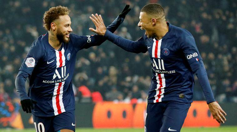 Mbappe and Neymar score as PSG extend lead