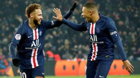 Kylian Mbappe, PSG vs Nantes, PSG beat Nantes, PSG vs Nantes highlights, Neymar penalty, French League 1, French League standings, football news