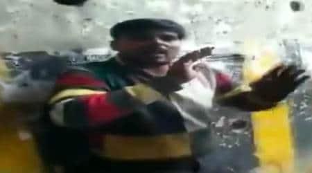 greater noida vendor beaten up viral video, noida vendor thrashed viral video, noida news, greater noida news