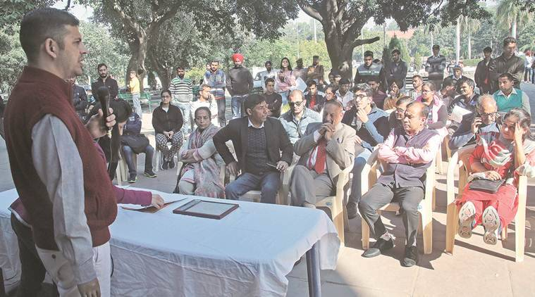 Panjab University holds discussion on disabled students' rights, student council members missing