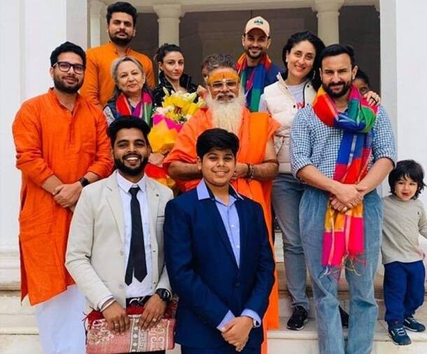 Pataudi family photo