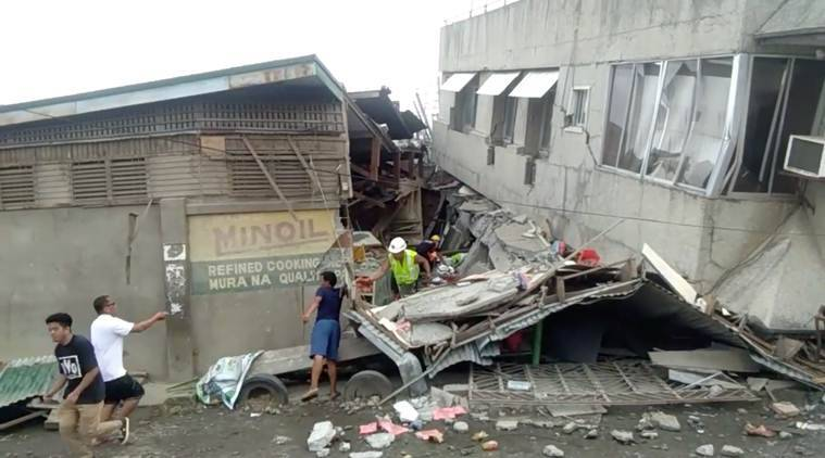 Philippines earthquake, earthquake in Philippines, Philippines earthquake news, Philippines earthquake deaths, earthquake in Philippines, World news, Indian Express