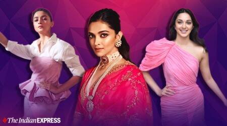 pink outfits, bollywood pink outfits, deepika padukone photos, alia bhatt photos,