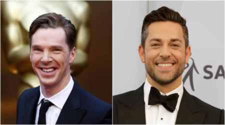 Benedict Cumberbatch and Zachary Levi