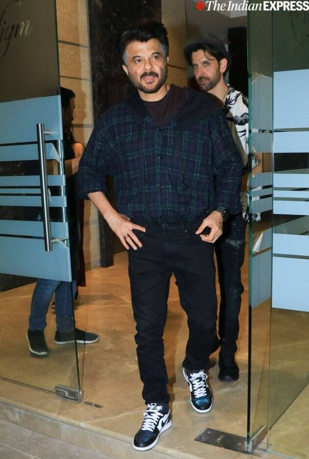anil kapoor at rohini iyer party